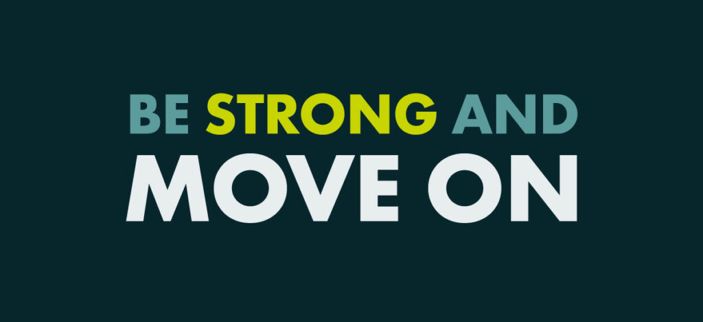 Tonic Essentials: Be strong and move on