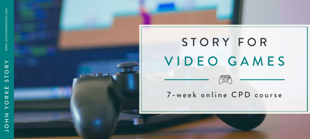 Learn how to write for video games - CPD course discount for BCI members