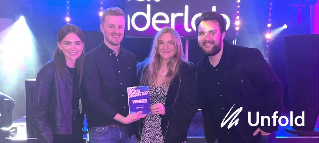 Team Unfold wins 'Best Digital Design' at The SPARKies 2021